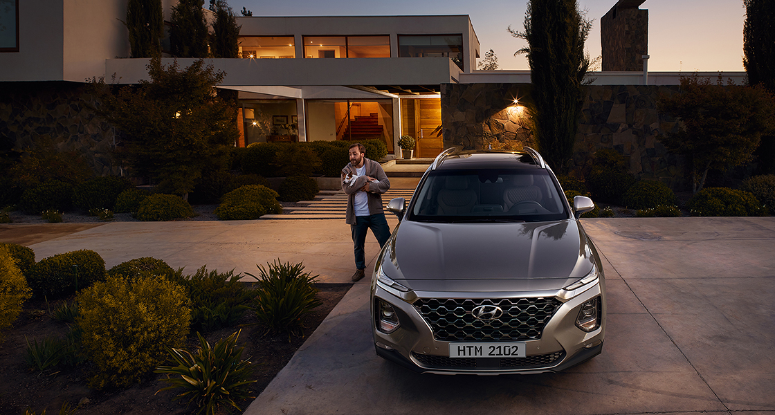 Hyundai New SANTA FE | Галерея, фото | Хюндай Мотор Україна - фото 26
